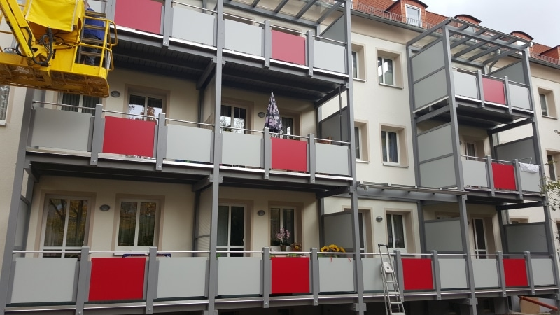 Balkonanlage Bad Blankenburg