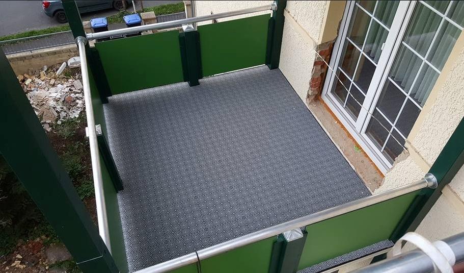 abdichtung bodenbelag balkonbau abdichtung wei fietze. Black Bedroom Furniture Sets. Home Design Ideas