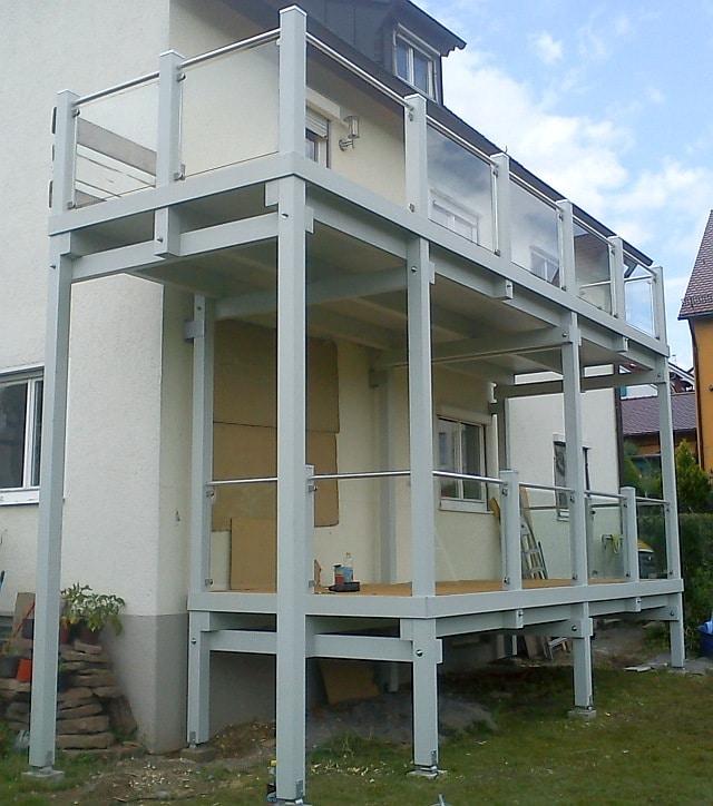 abdichtung balkon balkonanlagen vorstellbalkone anbaubalkone. Black Bedroom Furniture Sets. Home Design Ideas